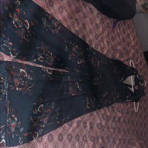 Mink pink jumpsuit